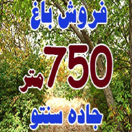 فروش باغ 750 متری در جاده سنتو ارومیه