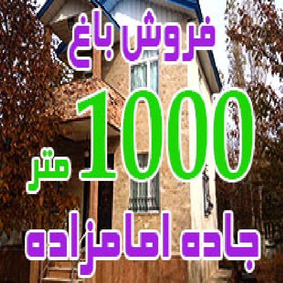 فروش باغ 1000 متری در جاده امامزاده صالح اباد