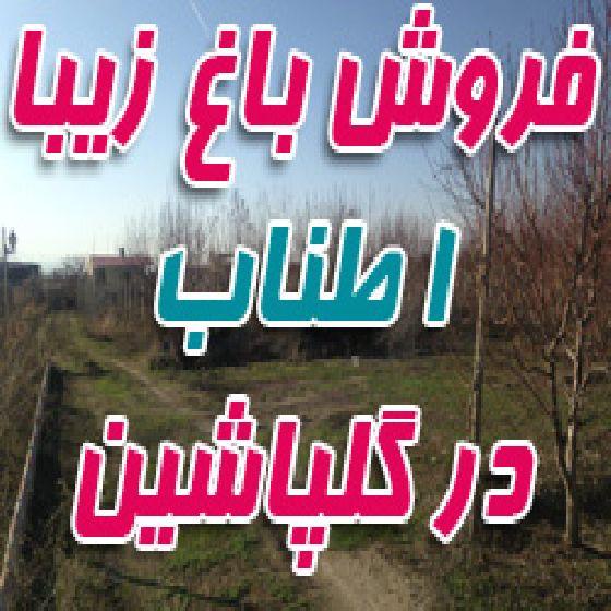 فروش 1 طناب باغ در جاده امامزاده  گلپاشین ، سند 1 دانگ
