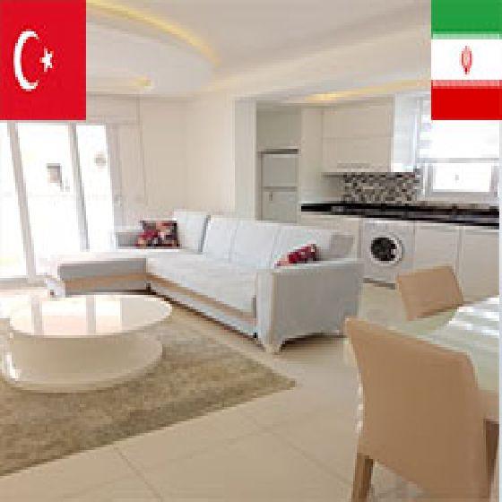 فروش آپارتمان70 متر منطقه سارای آلانیا در ارومیه