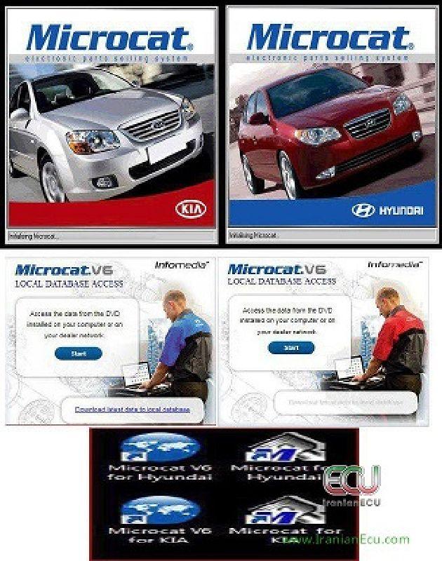 نرم افزار مایکروکت هیوندا و کیا Microcat V6/Normal