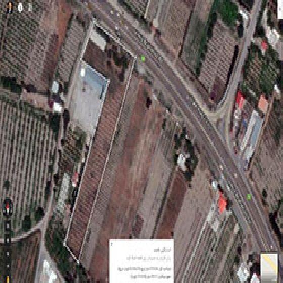 فروش باغ  6800 متربر جاده سنتو ارومیه