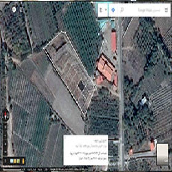 فروش زمین صنعتی 8500 متر در جاده سنتو ارومیه