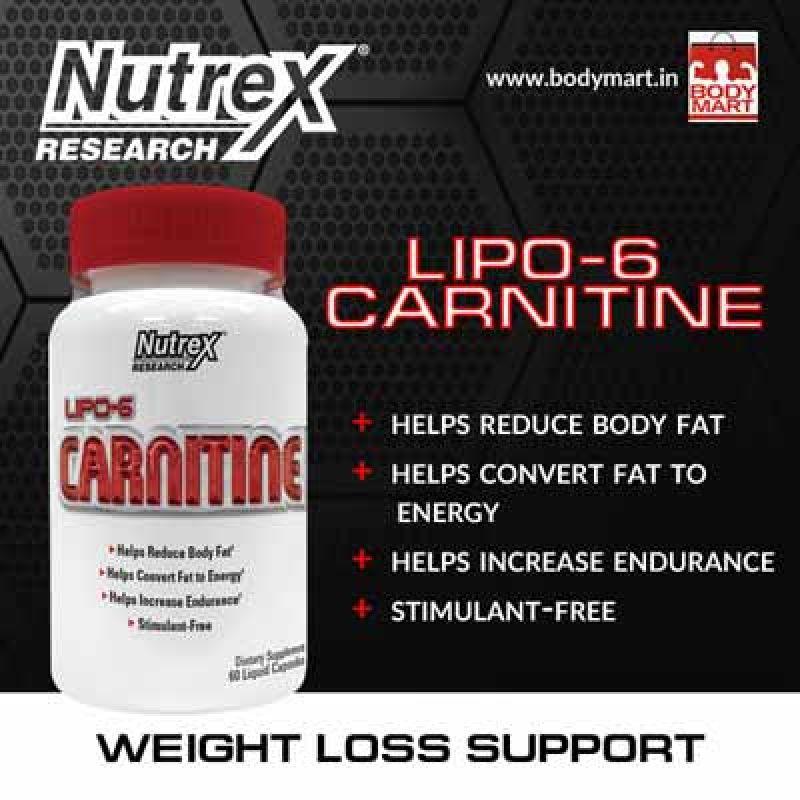 ال کارنیتین لیپو 6 نوترکس Nutrex Lipo 6 Carnitine