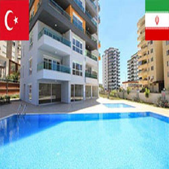فروش آپارتمان در منطقه محمودلار- آلانیا  Alanya – Mahmutlar