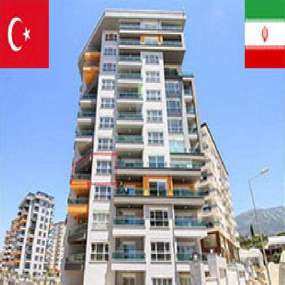 فروش آپارتمان 85 متر آلانیا - منطقه کادی پاشا ارومیه