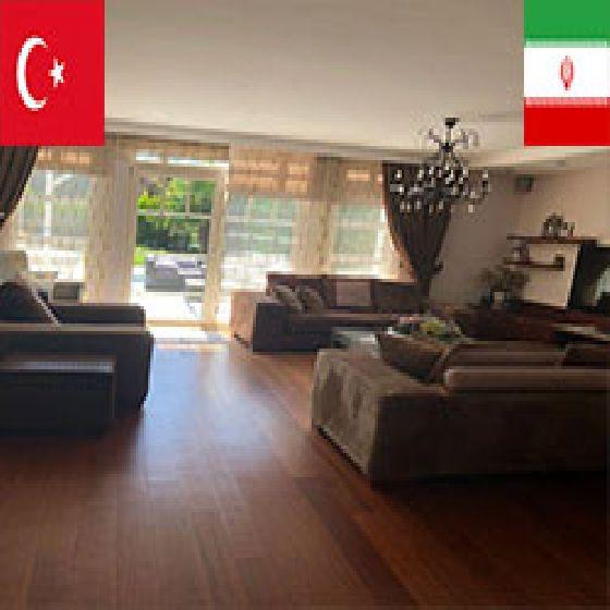 فروش ویلای لاکچری 500 متر در استانبول منطقه ساری یر