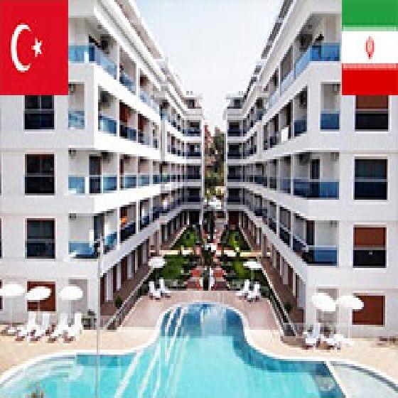 .فروش آپارتمان 140 متر آلانیا / منطقه کستل
