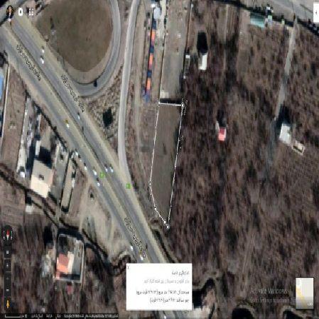 فروش زمین2420 متر بر جاده سنتو ارومیه