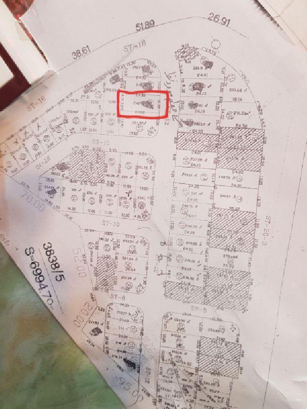 فروش زمین 240  مترگلشهر 1 ارومیه