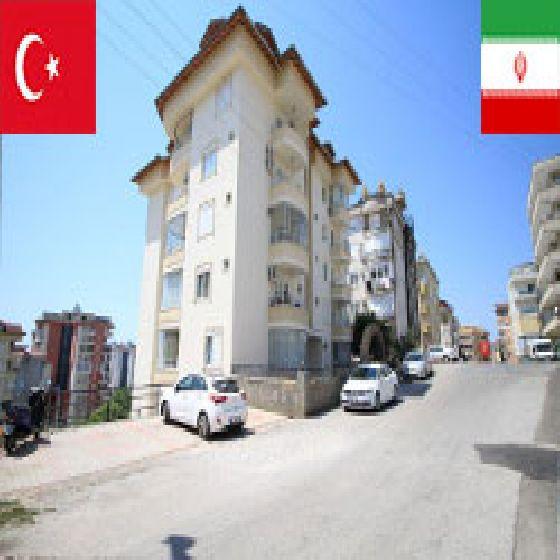 فروش آپارتمان درترکیه آلانیا محله جیکجیلی