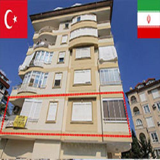 فروش آپارتمان در محله جیکجیلی آلانیا ترکیه