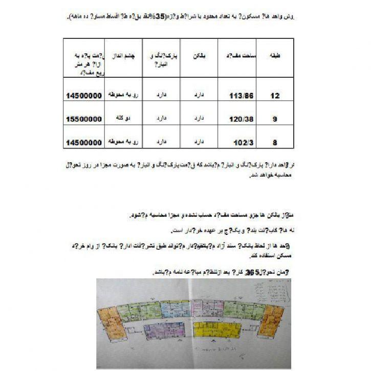 فروش استثنایی چند واحد مجتمع مسکونی در گلشهر1 ارومیه