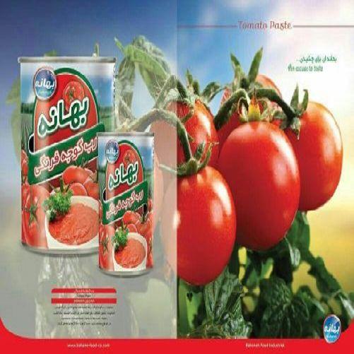 رب گوجه فرنگی بهانه ؛ محصولی مطمئن و با کیفیت