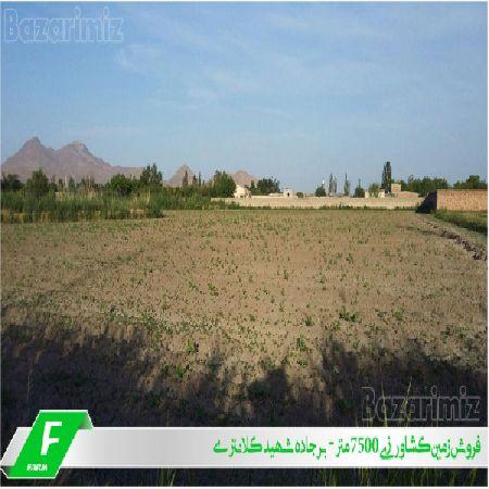 فروش زمین کشاورزی 7500 متر بر جاده شهید کلانتری ارومیه