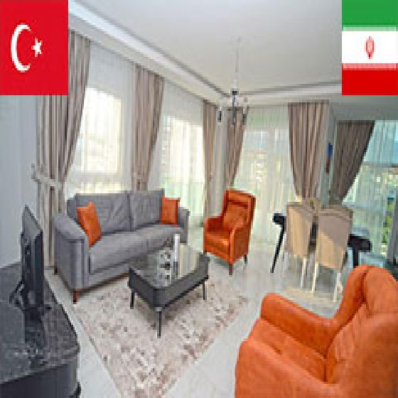 فروش آپارتمان 70 متر آلانیا منطقه کستل