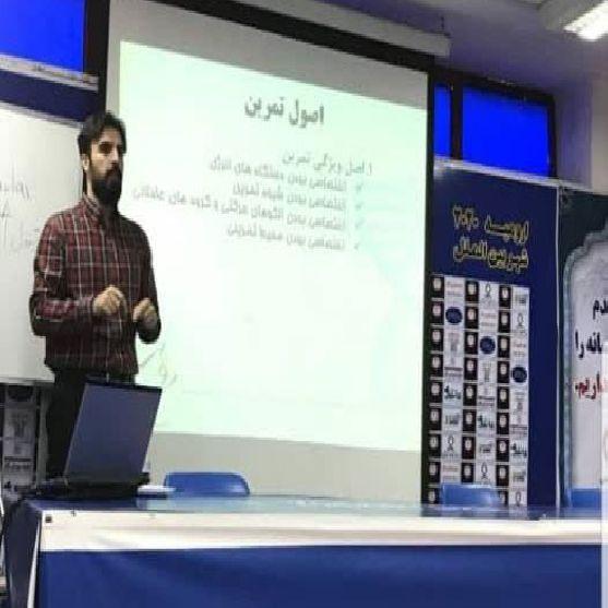 دوره مربیگری والیبال علم تمرین و طراحی تمرین دکتر مرتضی سلیمی در ارومیه