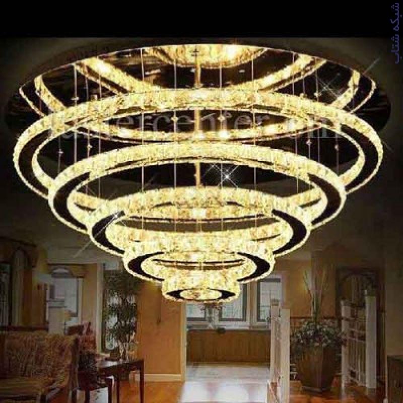 :: فروش تخصصی لوستر و چراغهای تزیینی با تنوع بیش از 2000 مدل ، انواع لوستر چوبی کریستالی حلقه ای سقفی و ...